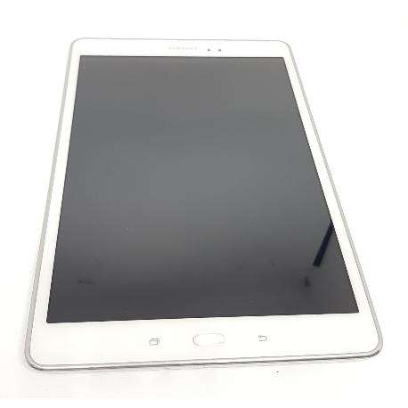 PANTALLA LCD + TACTIL CON MARCO ORIGINAL SAMSUNG GALAXY TAB A  WIFI SM-T550 / GALAXY TAB A 4G T555 - RECUPERADA - B