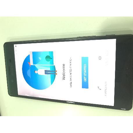 PANTALLA LCD DISPLAY + TACTIL CON MARCO ORIGINAL PARA SONY XPERIA X (F5121), XPERIA X DUAL (F5122) - NEGRA