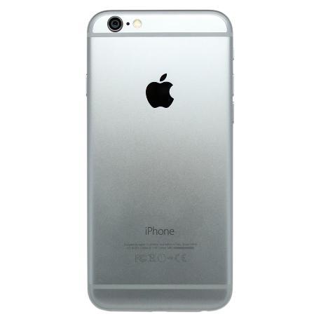 Tapa Trasera Original para iPhone 6 - Gris / Negro