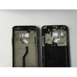 Carcasa Central + Marco Frontal + Cable Flex de Teclado Frontal + Vibrador SAMSUNG GALAXY S I9000