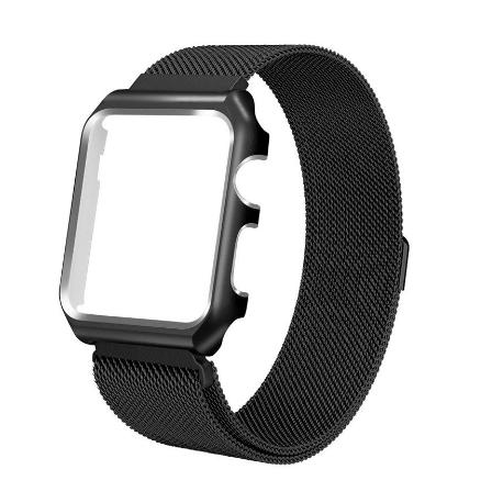 CORREA MAGNETICA PARA APPLE WATCH 4 - 44MM - NEGRA