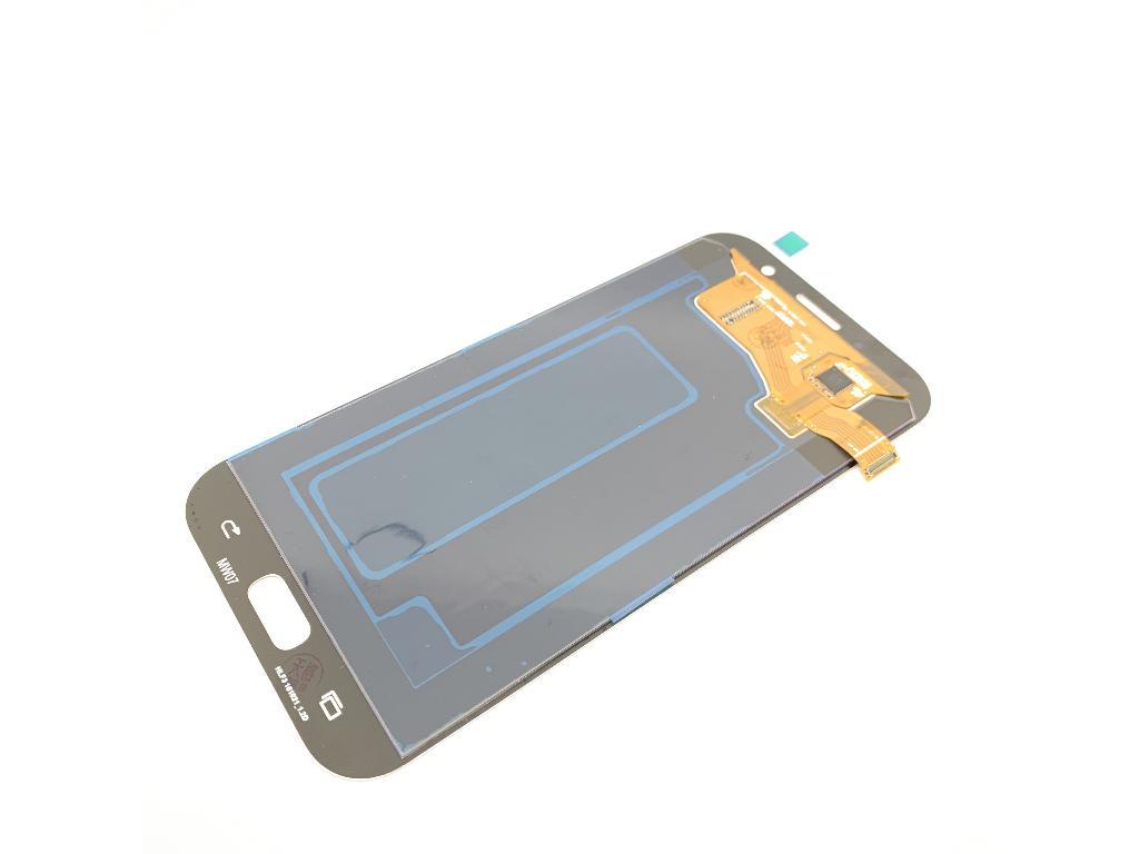 Pantalla Super Amoled Y Tactil Para Samsung Galaxy A7 2017 Azul