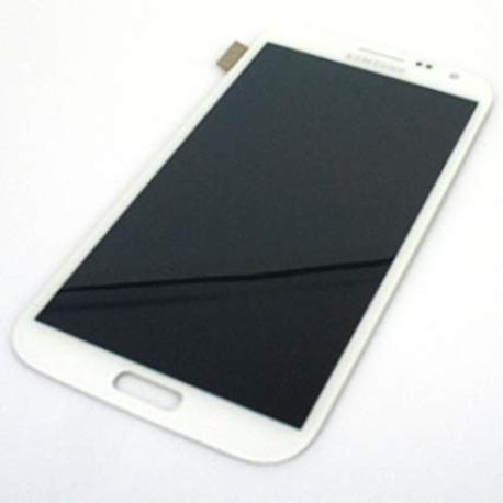 PANTALLA TACTIL + LCD DISPLAY PARA  SAMSUNG NOTE 2 N7100 - BLANCA - USADA