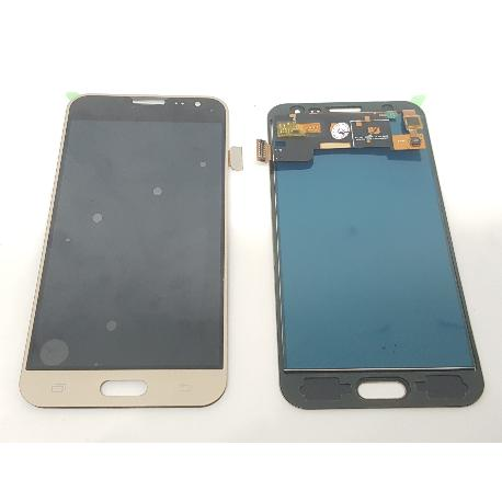 PANTALLA LCD DISPLAY + TACTIL PARA SAMSUNG GALAXY J3 (2016) SM-J320F - ORO COMPATIBLE