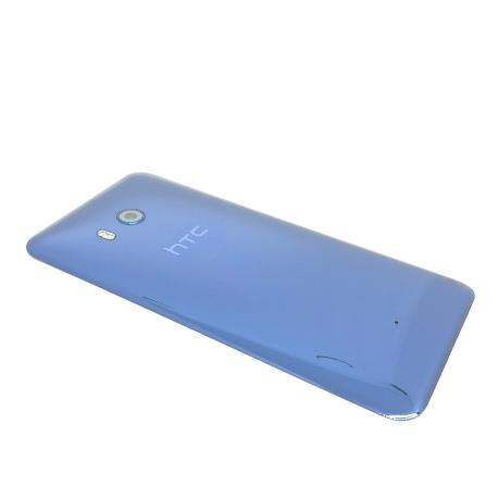 TAPA TRASERA ORIGINAL PARA HTC U11 - AZUL RECUPERADA
