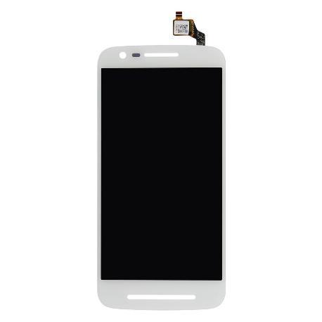 PANTALLA LCD DISPLAY + TACTIL MOTOROLA MOTO E3 (2016) - BLANCA
