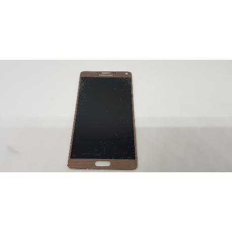PANTALLA LCD + TACTIL ORIGINAL PARA SAMSUNG GALAXY NOTE 4 SM-N910F - VELADA USADA