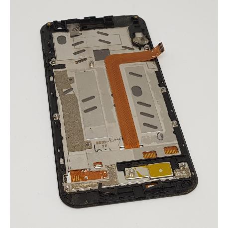 PANTALLA LCD + TACTIL CON MARCO ORIGINAL PARA MYWIGO MAGNUM 2 MWG549-B - RECUPERADA
