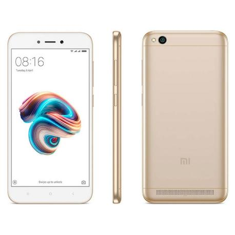 TELEFONO MOVIL REACONDICIONADO XIAOMI REDMI NOTE 5A DORADO CON CAJA - GRADO B