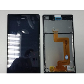 Pantalla Lcd + Tactil con Marco Original Sony Xperia T3 D5102 D5103 D5106 M50W Negro de Desmontaje