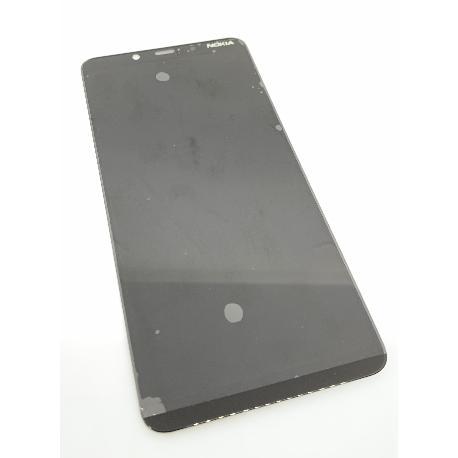 PANTALLA LCD Y TACTIL PARA NOKIA 3.1 PLUS - NEGRA