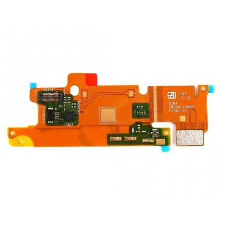 Flex Microfono con Antena LTE Original Sony Xperia T3 D5102 D5103 D5106 M50W Remanufacturado
