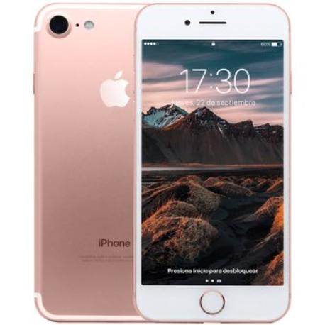 * TELEFONO MOVIL REACONDICIONADO IPHONE 7 128GB  BLANCO ROSA - GRADO C