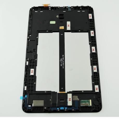 PANTALLA LCD DISPLAY + TACTIL ORIGINAL PARA SAMSUNG SM-T580, T585 GALAXY TAB A (2016)  NEGRA - RECUPERADA