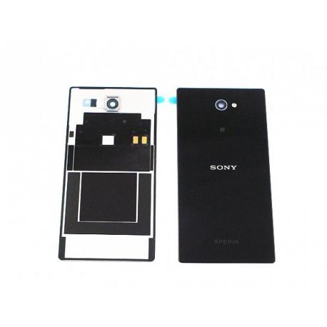Tapa Trasera Sony Xperia M2 Aqua D2403 D2406 Negra de Desmontaje Remanufacturada