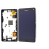 Pantalla LCD Display + Tactil con Marco Sony Xperia Z3 Compact Mini D5803, D5833 - Negra
