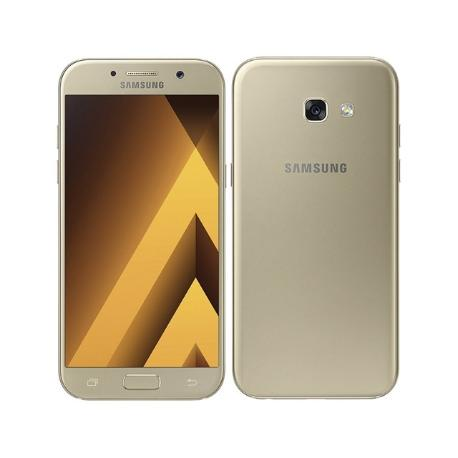 * TELEFONO MOVIL REACONDICIONADO SAMSUNG GALAXY A5 2017 A520 32GB ORO - GRADO A