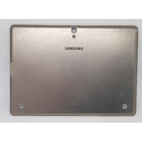 TAPA TRASERA CON MARCO ORIGINAL PARA TABLET SAMSUNG SAMSUNG GALAXY TAB S 10.5 LTE  T805  ORO - RECUPERADA