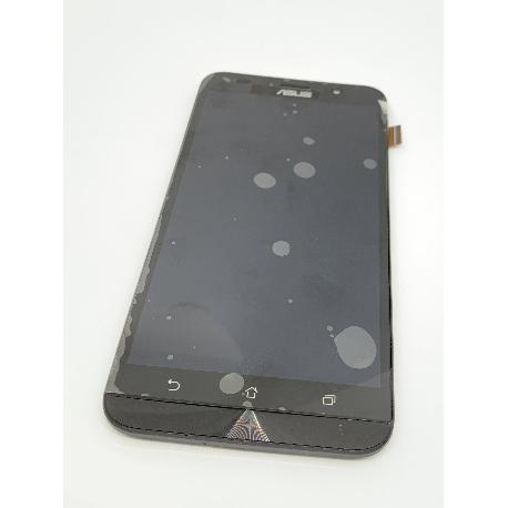 PANTALLA LCD DISPLAY + TACTIL CON MARCO PARA ASUS ZENFONE GO 4.5 ZB552KL - NEGRA