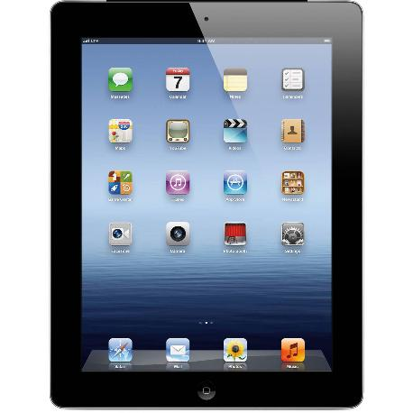 * TABLET REACONDICIONADA IPAD 3 16GB 3G CON SIM NEGRA A1430 - GRADO C