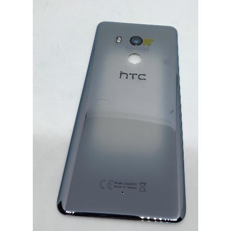 TAPA TRASERA PARA HTC U11 PLUS - NEGRA - TRANSPARENTE