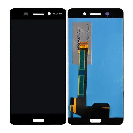 PANTALLA LCD DISPLAY + TACTIL ORIGINAL PARA NOKIA 6 - NEGRA USADA