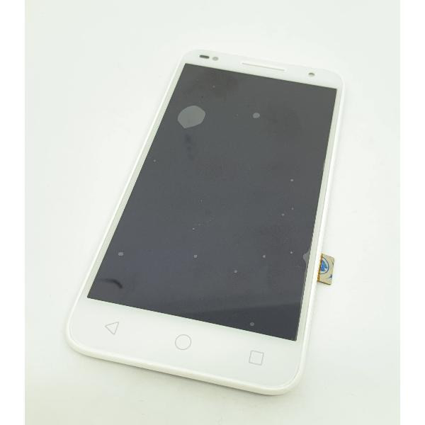 PANTALLA LCD DISPLAY + TACTIL CON MARCO PARA ALCATEL U5 5047 - BLANCA