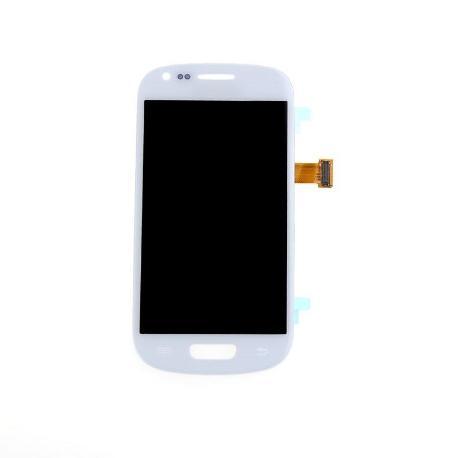 64e4a7e5c72 PANTALLA LCD + TACTIL ORIGINAL SAMSUNG GALAXY S3 MINI I8190 I8200 - BLANCA  / RECUPERADA