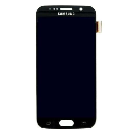PANTALLA LCD DISPLAY + TÁCTIL PARA SAMSUNG S6 I9600 SM-G920 - AZUL - RECUPERADA