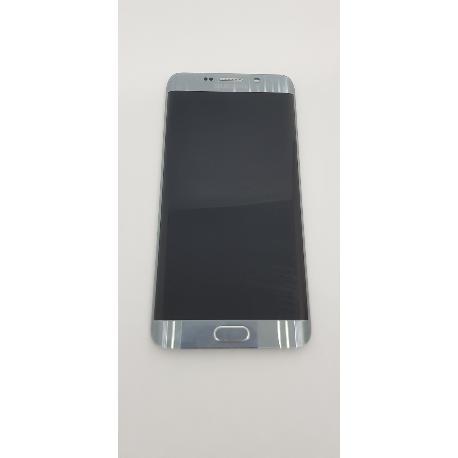 PANTALLA LCD DISPLAY + TACTIL CON MARCO ORIGINAL PARA SAMSUNG GALAXY S6 EDGE PLUS G928F NEGRA - RECUPERADA CON TARA