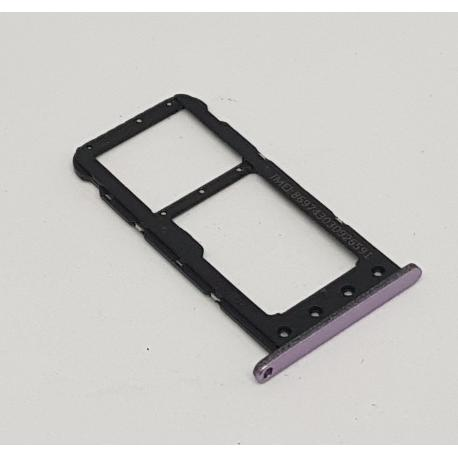 ADAPTACION SIM + SD ORIGINAL PARA HUAWEI HONOR PLAY COR-L29 VIOLETA