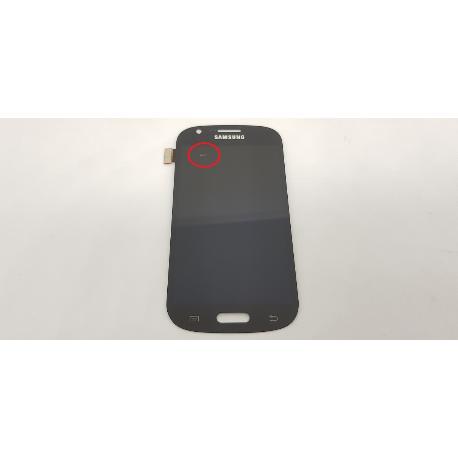 PANTALLA LCD DISPLAY + TACTIL ORIGINAL SAMSUNG GALAXY EXPRESS I8730 - GRIS - RECUPERADA CON TARA