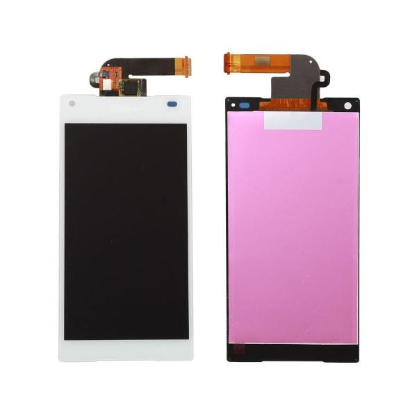 PANTALLA LCD DISPLAY + TACTIL PARA SONY XPERIA Z5 COMPACT E5803, E5823 - BLANCA