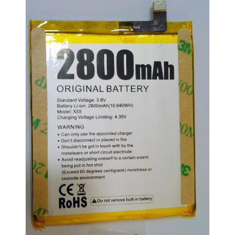 BATERIA ORIGINAL PARA DOOGEE PRO X55 DE 2800MAH