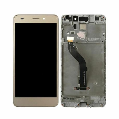 PANTALLA LCD DISPLAY + TACTIL CON MARCO PARA HONOR 7 LITE, HONOR 5C, HUAWEI GT3 - ORO