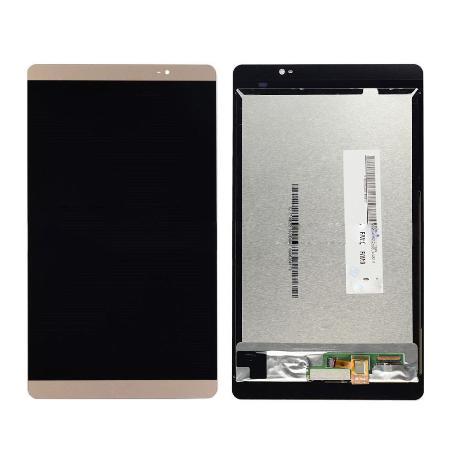 PANTALLA LCD DISPLAY + TACTIL PARA HUAWEI MEDIAPAD M2 8.0 - ORO