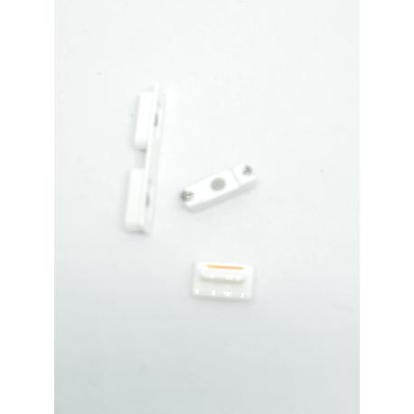 SET DE BOTONES PARA IPHONE 5C - BLANCO
