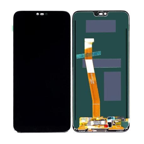 PANTALLA LCD Y TACTIL PARA HUAWEI HONOR 10 - NEGRA ( CON SENSOR DE HUELLA)