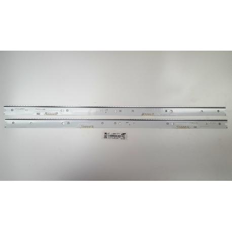*** SET DE 2 TIRA DE LED PARA TV SAMSUNG  UE55JS8000T BN96-34774A Y  BN96-34775A