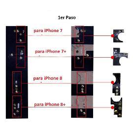 FLEX BOTON HOME PARA IPHONE 7, 7+ PLUS, 8, 8 PLUS - NEGRO  - VER VIDEO