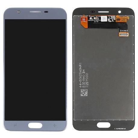 Pantalla LCD y Tactil para Samsung Galaxy J7 2018 - Azul / Plata