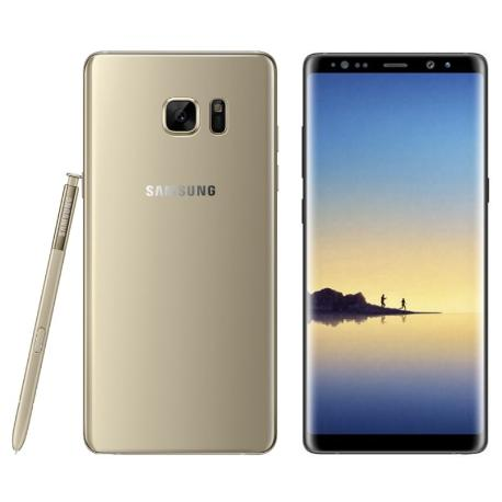 * TELEFONO MOVIL REACONDICIONADO SAMSUNG GALAXY NOTE 8 64GB ORO - GRADO A