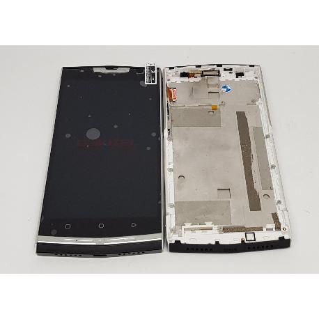 PANTALLA LCD + TACTIL CON MARCO PARA OUKITEL K10000 PRO - NEGRA
