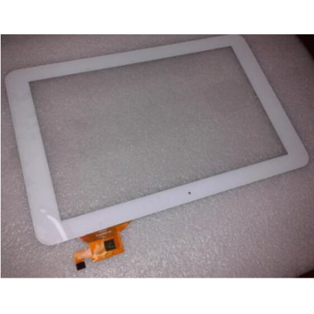"""PANTALLA TACTIL BRIGMTON TABLET PC 10.1"""" QUAD CORE IPS HD BTPC-1014QCHD BLANCA - RECUPERADA"""