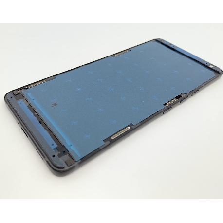 CARCASA FRONTAL DE PANTALLA Y MARCO PARA HTC U12 PLUS - NEGRA