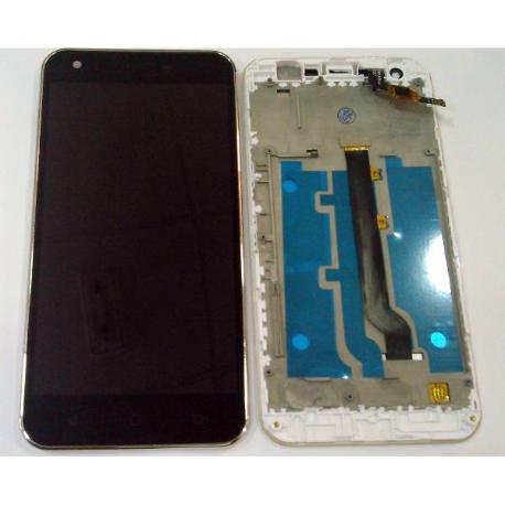 PANTALLA TACTIL + LCD DISPLAY CON MARCO PARA VODAFONE SMART ULTRA 6 VF995 VF995N NEGRA