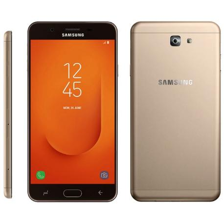 * TELEFONO MOVIL REACONDICIONADO SAMSUNG GALAXY J7 PRIME 2 ORO/NEGRO - GRADO A+
