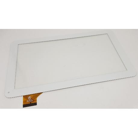 Pantalla Tactil de 10.1 Pulgadas para Tablet QX20151010 HK10DR2537  - Blanca