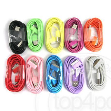 CABLE DE DATOS IPHONE 3G 3GS 4 4S IPAD 2 3 MA591GA COMPATIBLE HASTA IOS 7 BLANCO
