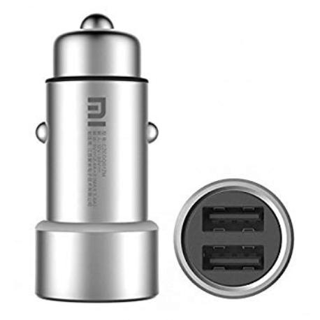CARGADOR COCHE DOBLE USB XIAOMI CZCDQ01ZM EN BLISTER